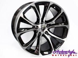 """20"""" QS BK923 XM Sport 5/120 BKMF Alloy Wheels-0"""