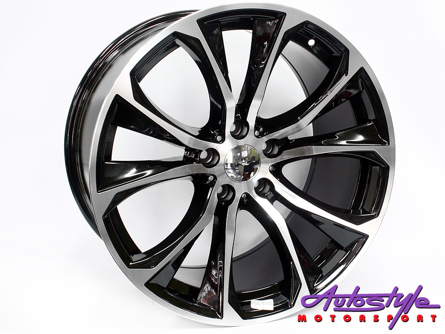 20″ QS BK923 XM Sport 5/120 BKMF Alloy Wheels