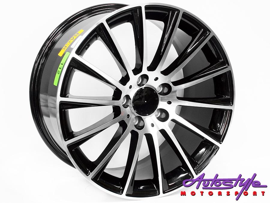 18″ QS S63 Style 5/112 BKMF Alloy Wheels