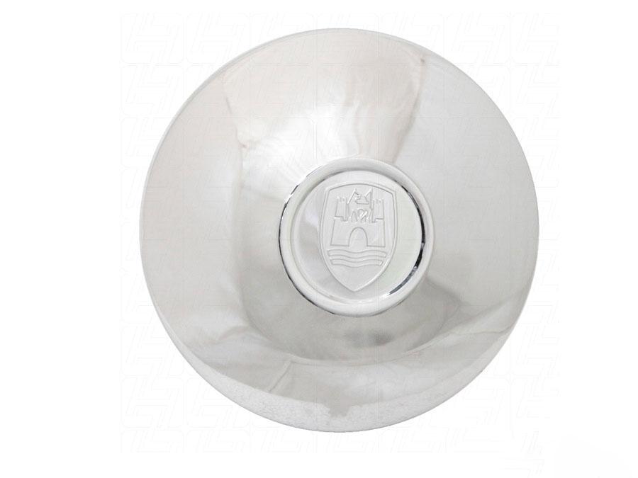 Wolfsburg chrome hubcap with logo (set of 4)