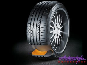 """225-45-17"""" Continental Runflat Tyres-0"""