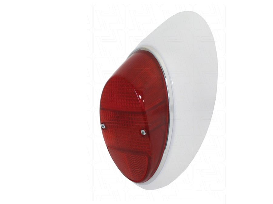 VW Classic Beetle Complete Rear Light RIGHT with all Red Lens 1961-1974