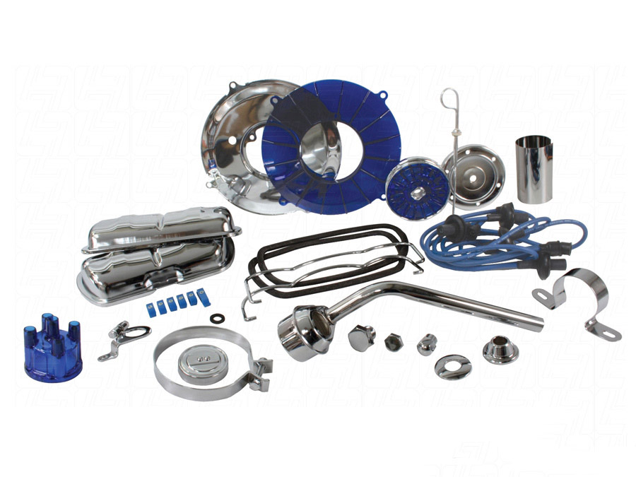 VW Engine Dress Up Kit (blue)