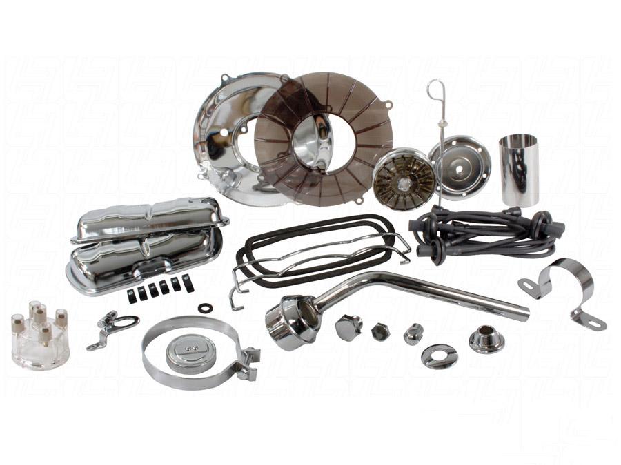 VW Engine Dress Up Kit (black & clear)