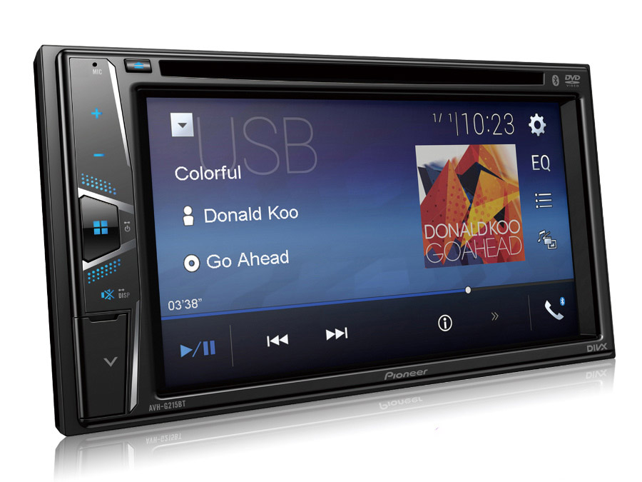 Pioneer AVH-G215BT Double Din DVD/Mp3 Receiver
