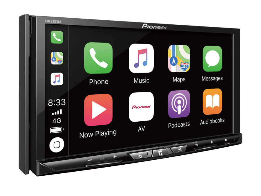 "Pioneer AVH-Z9150BT 7"" Clear-Type Resistive Touch-screen with Apple CarPlay"
