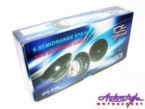 """ICE Power 6.5"""" 800w Midrange Speakers-0"""