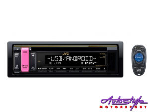 JVC KD-R498 Mp3 Cd Front Loader with USB-0