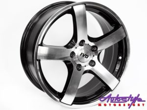 "17"" IVD BK488 5/114 BM Alloy Wheels-0"