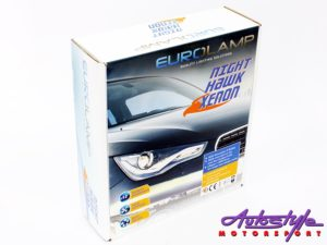 H3 HID Eurolamp 6000k Conversion Kit-0