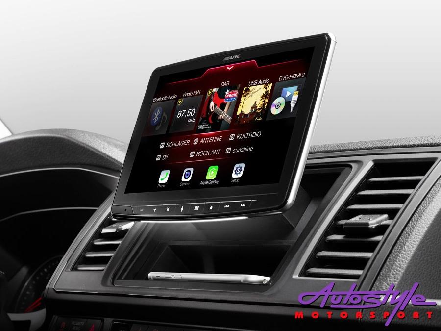 alpine ilx f903d halo9 9 single din digital media receiver autostyle motorsport online. Black Bedroom Furniture Sets. Home Design Ideas