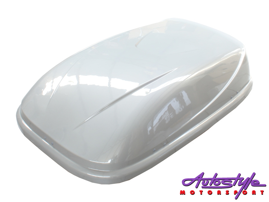 Evo Tuning Roof Storage Box (silver grey)-29877