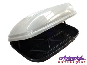 Evo Tuning Roof Storage Box (silver grey)-0