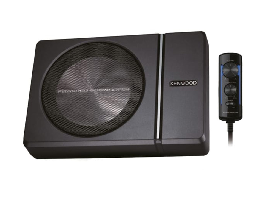 Kenwood KSC-PSW8 8″ Compact Subwoofer with Built in Amplifier