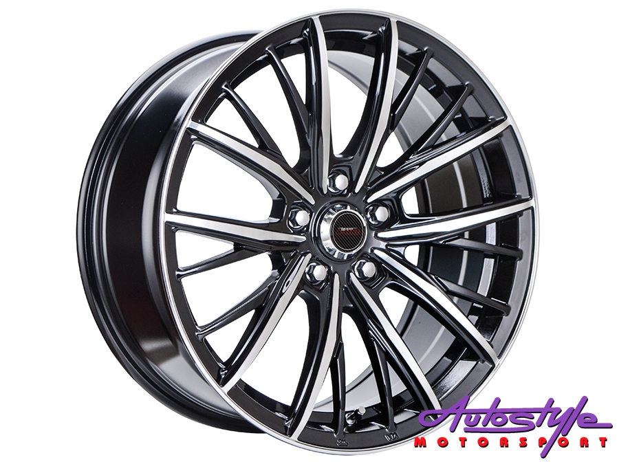 17″ A-line Iconic 5/112 BKMF Alloy Wheels