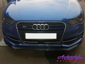 Audi S3 Hatch 13-17 Front Spoiler-0