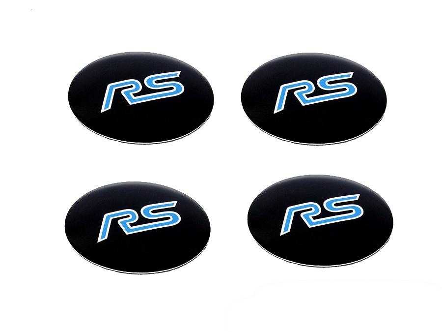RS Design Black Mag Wheel Decal
