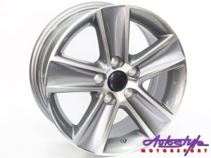 "14"" QS Cross 5/100 Alloy Wheels-0"