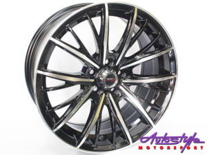 """17"""" A/line Iconic 5/100 Alloy Wheels-0"""