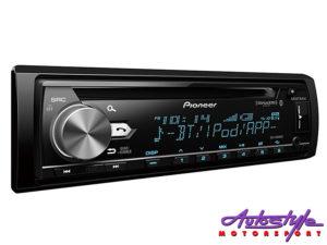 Pioneer DEH-X7850BT Mp3 CD with Bluetooth, USB & Mixtrax-0