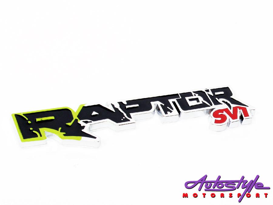 Raptor SVT Sticker Badge-0
