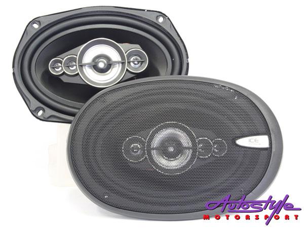 Ice Power IPS-698 800w 5 Way 6x9 Speakers-0