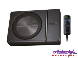 """Kenwood KSC-PSW8 8"""" Compact Subwoofer with Built in Amplifier-0"""