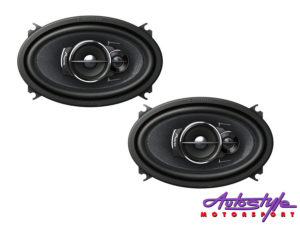 """Pioneer TS-A4633I 4x6"""" 3way Coaxial Speakers-0"""