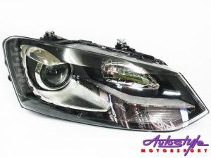 Polo 14+ Headlight LED GTI Style With Chrome-0