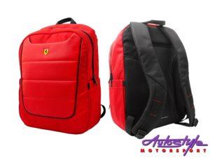 "Ferrari Scuderia 15"" Rucksack Backpack-0"