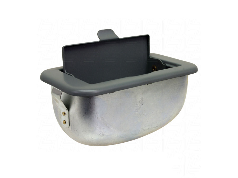 VW Classic Bus Dashboard Mounted Ashtray in Grey Primer > T2 Split 1950-1967