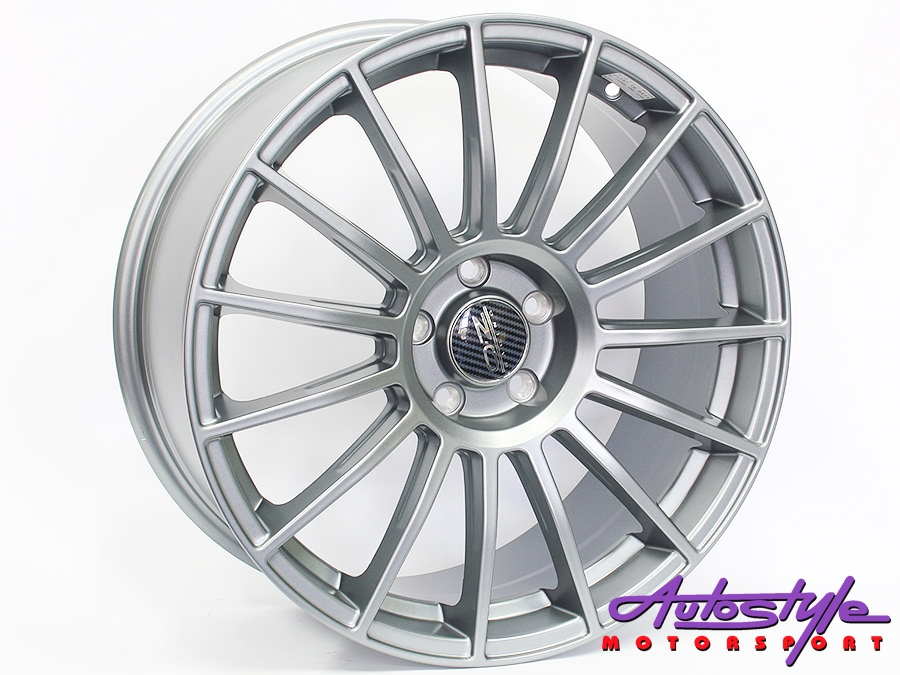 19″ OZZ 237 5/112 Grey Alloy Wheels
