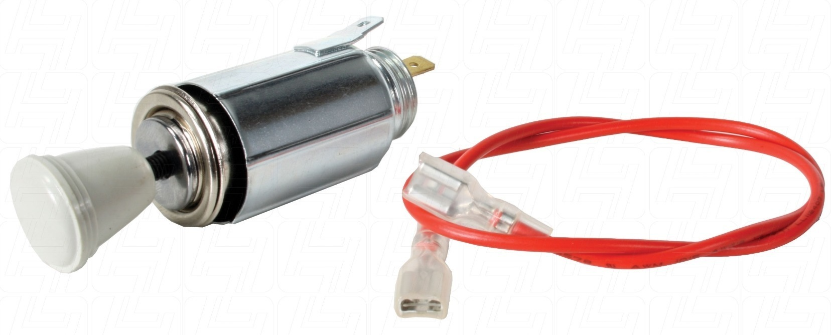 12 Cigarette Lighter & Plug (Grey)