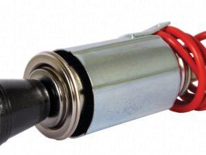 12 Cigarette Lighter & Plug (black)-0