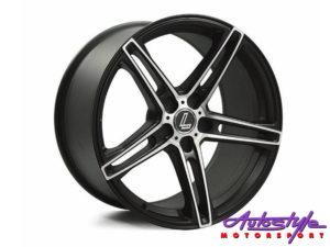 "17"" Lenso CQ6 5/112 BKMF Alloy wheels-0"