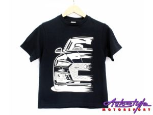 Audi Silhouette Design Tshirt – X Large Adult (asst colours)-0