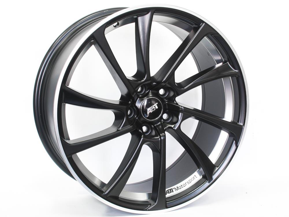 19″ A8T 5/112 Matt Black Alloy Wheels