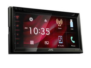 "JVC KW-V340BT Double Din Multimedia Receiver with 6.8"" Screen-0"