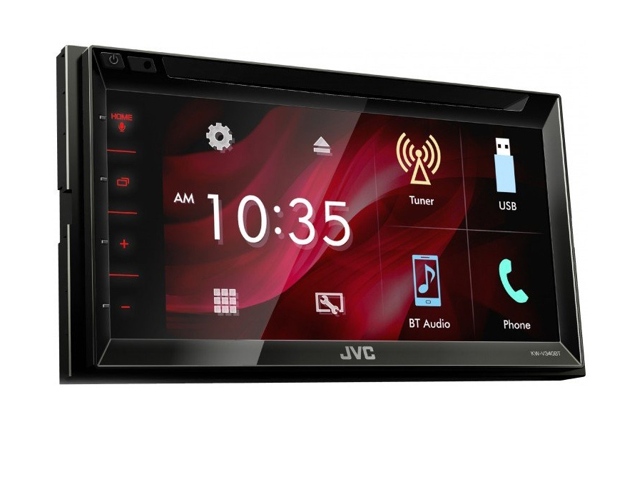 JVC KW-V340BT Double Din Multimedia Receiver with 6.8″ Screen
