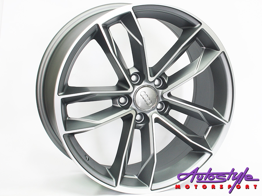 "18"" QS S5 5/112 MG Alloy Wheels-0"