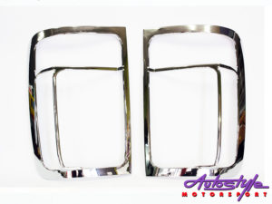VW Amarok Chrome Taillight Covers (pair)-0