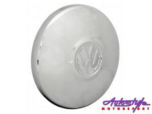 VW Chrome Hub Caps (set)-0