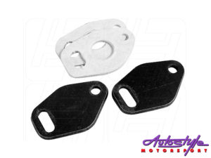 VW Classic Pre-Heat Tube Block-Offs Pair -0