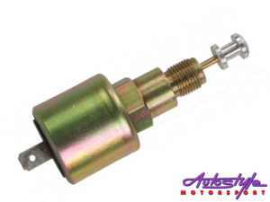 VW Carburettor Air Cut off valve 12V > -0
