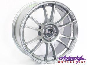 """18"""" OZZ 232 5/112 Grey Alloy Wheels-0"""