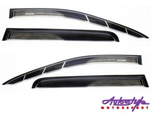 Nissan Navara 12+ Black Windshields Set-0