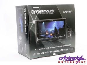 Paramount Double Din Media Receiver with USB/Bluetooth-0