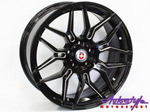 """18"""" 1239 Black 5/112 Alloy Wheels -0"""