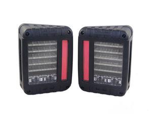 Jeep Wrangler Line-Design LED Smoked Tailights (pair)-0
