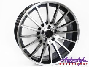 "19"" QS ZR63 5/112 BKMF Alloy Wheels-0"